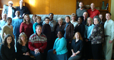A group photo of CBI participants