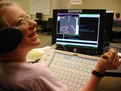 Picture of assistive technology.