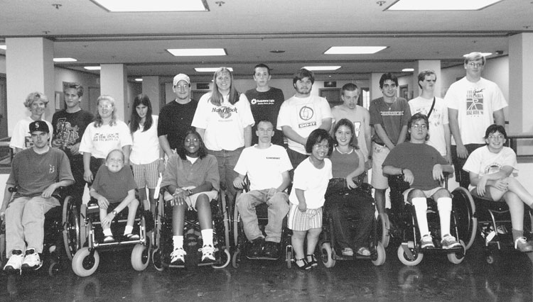 Group photo of 1997 DO-IT Scholars