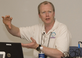 Photo of DO-IT computer technology instructor