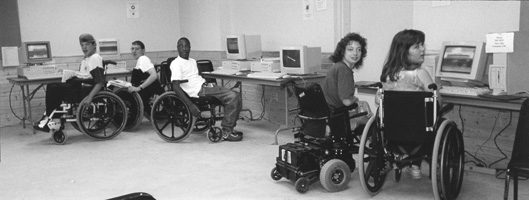 Photo of Courage Computer Lab