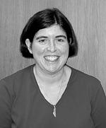 Photo portrait of 2002 DO-IT staff mentor Rebecca Cory